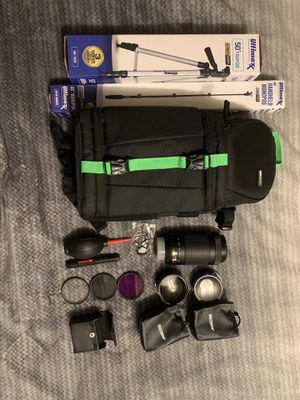 Nikon Lens and accessories for Sale in Lillington, NC
