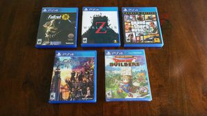 PS4 Games - Complete and Like New for Sale in Miami, FL