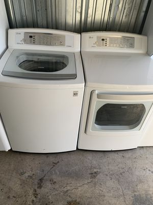 LG Washer and dryer good condition for Sale in Sterling, VA