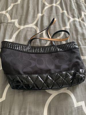 Black Poppy Signature tote Coach purse for Sale in San Francisco, CA
