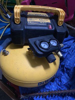 Dewalt compressor $80 for Sale in West Mifflin, PA