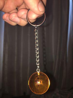 Dragon Ball Z keychain / car ornament: 4 star dragonball for Sale in Vallejo, CA