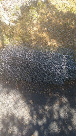 FREE scrap metal! Old chain link fence and posts for Sale in Portland, OR