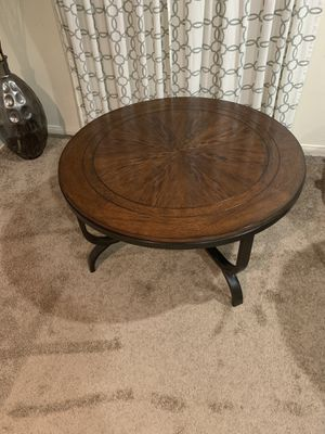 Coffee table -2 side tables from Ashley furniture for Sale in Irvine, CA