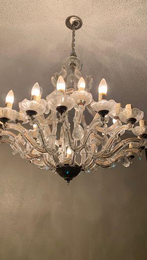 Crystal chandelier for Sale in Lancaster, CA