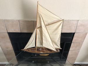 Sail boat decor for Sale in Houston, TX