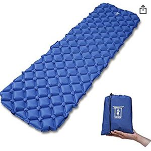 My Ronin Ultralight Outdoor Sleeping Pad, Inflatable, Moisture-Proof, with Bag for Sale in Ontario, CA