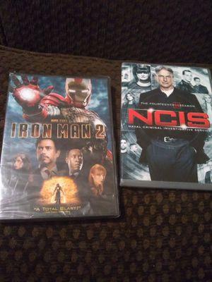 NCIS Season 14 & Iron Man 2 for Sale in Waterloo, IA