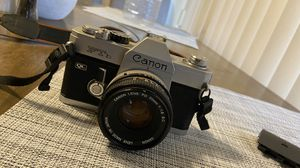 Canon Canon FTb QL SLR Vintage 35mm Film Camera w 50mm f/1.8 LENS for Sale in Monterey Park, CA