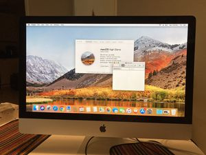 27 inch iMac Late 2009 240GB SSD No Mouse No Keyboard for Sale in Sunrise, FL