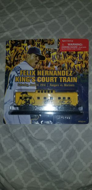 Felix Hernandez kings court train toy for Sale in Richland, WA