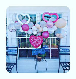 Balloon Arches Balloon Towers Balloon centerpieces etc. Best prices around! for Sale in Eustis, FL