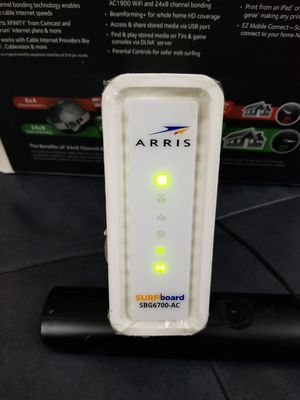 Arris Surfboard wifi router and modem for Sale in Elgin, IL