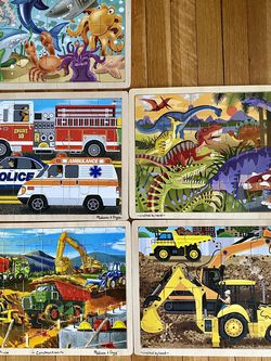 Melissa and Doug Puzzles for Sale in Warwick,  RI