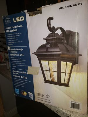 Outdoor light for Sale in Gilroy, CA