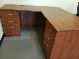 3 like new desks and cabinets for Sale in Hidden Hills, CA