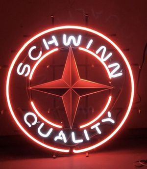 Vintage Schwinn Bike Shop Neon Krate for Sale in Brentwood, CA