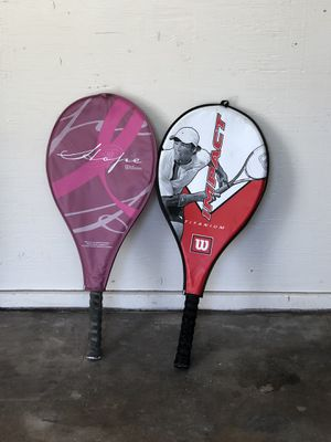Wilson tennis rackets for Sale in Burbank, CA