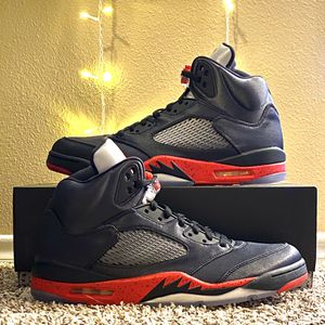 "Nike Air Jordan 5 Retro ""Satin Bred"" Size 12, Style Code 136027006 for Sale in Norman, OK"