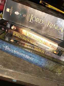 Lord of The Rings random Lot of DVDs and Sets for Sale in Orlando,  FL