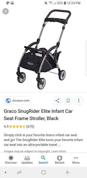 Graco SnugRide Snuglock 35 Elite Infant Car Seatwith Graco compatible Frame. for Sale in Alexandria, VA