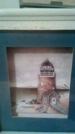 Lite house shadow box framed pictures for Sale in El Cajon, CA