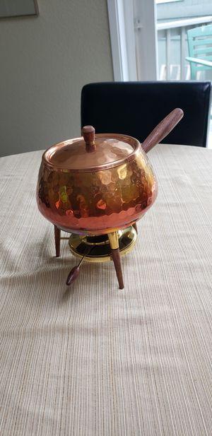 Vintage copper fondue pot for Sale in Auburn, WA