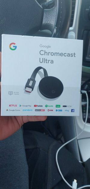 Google Chromecast Ultra for Sale in Wood Dale, IL