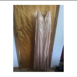 BLUSH DRESS - FOR PROM, WEDDINGS, XV for Sale in Round Lake, IL