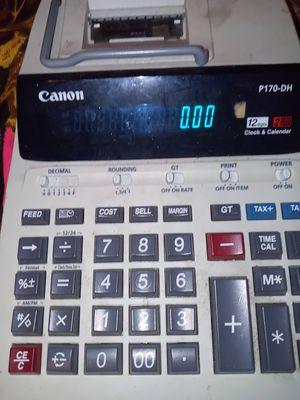 Canon receipt printer calculator for Sale in Riverview, FL
