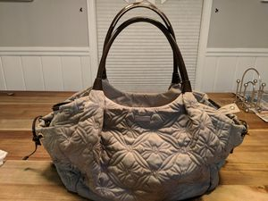 Kate Spade diaper bag. Taupe with red lining and polka dots. for Sale in Fairfax, VA