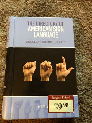 Directory of American Sign Language for Sale in Garden Grove, CA