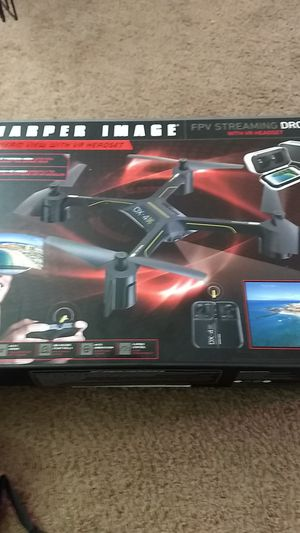 Sharper image drone with camera and vr head set! for Sale in Indianapolis, IN