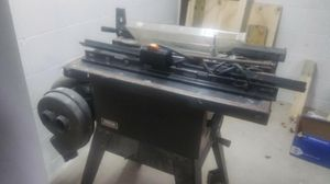 Craftsman table saw for Sale in Warrensville Heights, OH