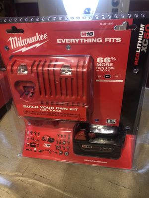 New 18v 5.0Ah XC battery and charger (m18&m12) for m18 cordless tools for Sale in Amherst, OH