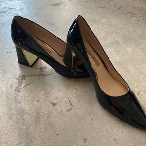 Zara basic Black Patent Leather Block Heel for Sale in Miami, FL