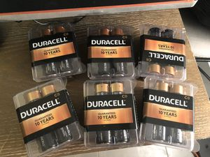 C8 Duracell batteries 6 available 8$ each for Sale in Sunrise, FL