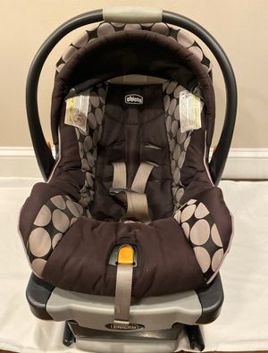 Chicco Infant Car Seat (w/o stroller) for Sale in Laurel, MD