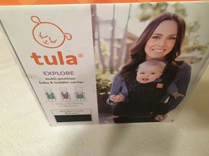 New Tula Explore Discover Multi-Position Baby Carrier - Black for Sale in Austin, TX