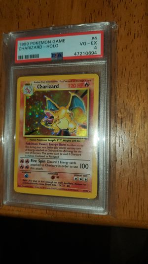 Pokemon card charizard for Sale in Baxley, GA