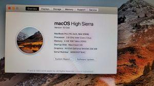 """Macbook Pro 15"""" for Sale in Pomona, CA"""