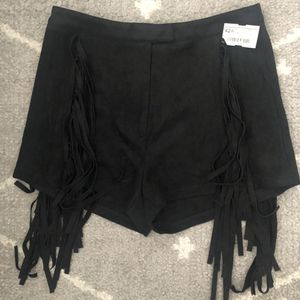 NWT Impeccable Pig Suede Fringe Shorts for Sale in Durham, NC