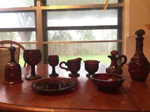Red Avon Glass for Sale in San Antonio, TX