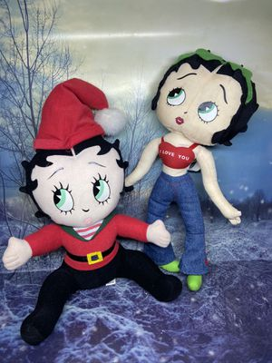 Betty Boop Stuffed Dolls for Sale in Bellflower, CA