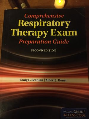Comprehensive Respiratory Therapy Exam for Sale in Klamath Falls, OR