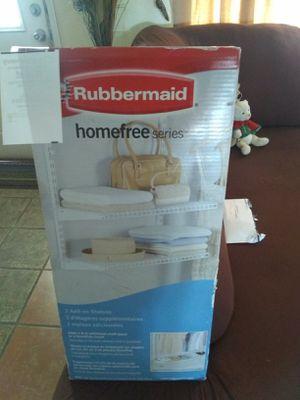Rubbermaid 2 add on shelves price firm Rubbermaid entrepaños precio firmes for Sale in Phoenix, AZ
