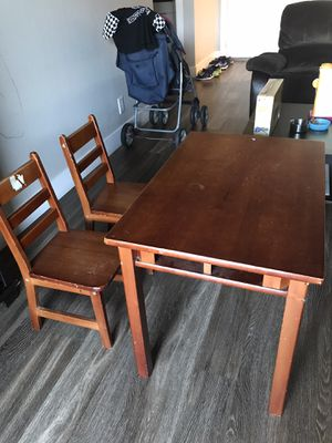 Kids study table & chair for Sale in Foster City, CA