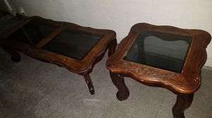 Coffee Table and 2x Side Table for Sale in Escondido, CA