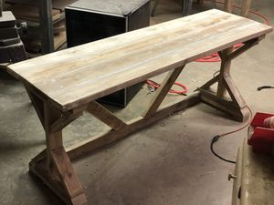Rustic desk/table for Sale in Macon, GA