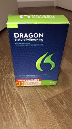 Dragon naturally speaking software for Sale in Aspen Hill, MD